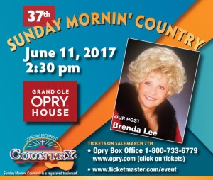 "Music City Christian Fellowship Announces ""Sunday Mornin' Country""®"