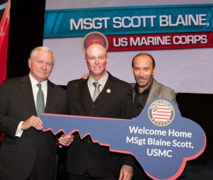 Helping A Hero To Present New Home To Wounded Hero MSgt (Ret.) Blaine Scott, USMC, With Special Guests Including Lee Greenwood