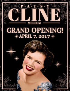 Patsy Cline Museum to hold Grand Opening on April 7, 2017