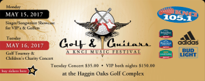 Scotty McCreery, Kristian Bush, Jack Ingram, Craig Campbell and more at 2017 Golf & Guitars Music Festival