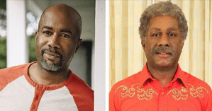 "Temporary new look for Darius Rucker, as he takes part in CBS show ""Undercover Boss"""
