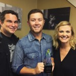 Scotty McCreery Receives his Rare Country Award