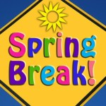 Spring is here! Time for a little break!