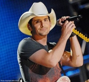 Brad Paisley offering copy of Love & War CD to you … and one for the military