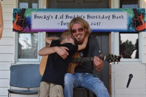 Bucky Covington surprises a special fan with an at-home appearance