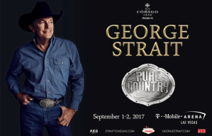 """George Strait's """"Pure Country"""" to be released on vinyl for first time 9/15; 9/1 & 9/2 Strait to Vegas shows to spotlight soundtrack"""