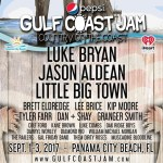 Pepsi Gulf Coast Jam updates!  VIP ticket price increase tomorrow (8/4/17)