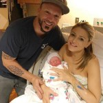 A new daughter for Chris Lucas, of LoCash