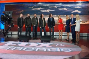 In Case You Missed It:  Home Free heads full-force into TIMELESS release week with Fox & Friends performance