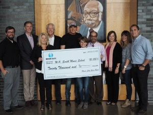 Rodney Atkins and Music City Gives Back Donate $20,000 to W.O. Smith Music School