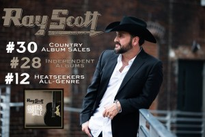 Ray Scott Achieves Chart Success With New Release, 'Guitar For Sale'