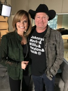 Tracy Lawrence joins host Suzanne Alexander on GAC's Great American Playlist