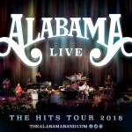 Legendary supergroup Alabama announces The Hits Tour 2018