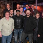 """Chris Young celebrates 10 No. 1 singles with party and live performance at """"Ten"""" Roof Broadway in Nashville"""