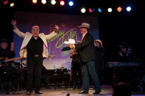 Mickey Gilley honored with Calgary White Hat