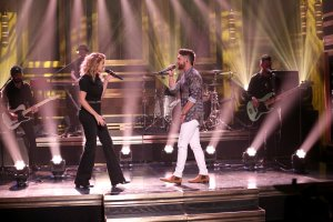 In Case You Missed It:  Chris Lane and Tori Kelly on NBC's The Tonight Show Starring Jimmy Fallon (4/2/18)