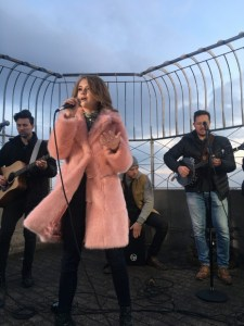 "Tegan Marie reaches new heights with Empire State Building performance of ""Keep It Lit"""