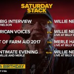 AXS TV celebrates Willie Nelson's birthday with a Special Saturday Block April 28