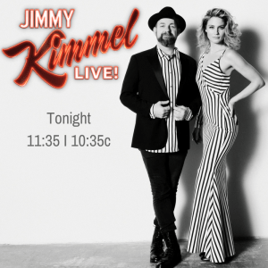 Sugarland on Jimmy Kimmel Live! TONIGHT!