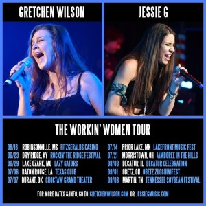 Gretchen Wilson kicks off The Workin' Women Tour