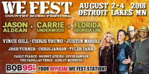 Carrie Underwood, Jason Aldean, Florida Georgia Line: The Headliners and Highlights of WE Fest 2018
