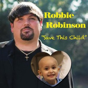 """Robbie Robinson releases new benefit single """"Save This Child"""""""