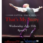 """Collin Raye announces new television show, """"That's My Story,"""" airing on WhereverTV"""