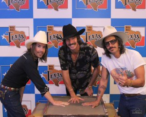 """Midland added To Billy Bob's Texas """"Hand Prints Of Stars"""" during sold out show joining Garth Brooks, Blake Shelton, Willie Nelson, Keith Urban & more!"""