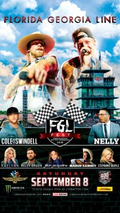 Florida Georgia Line races into the Indianapolis Motor Speedway with first-ever FGL Fest this Saturday (9/8/18)