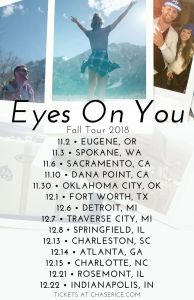 Chase Rice announces cross-country Eyes On You Tour
