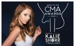 "Kalie Shorr to embark on ""Road To The CMA Awards"" Tour powered by Pepsi, Lay's, Santa Margherita & Vanity Fair Napkins"