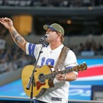 Jerrod Niemann scores with hard-hitting 'Old Glory' NFL performance, during halftime of ESPN's Mnday Night Football game