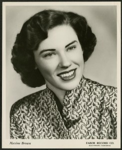Country Music Hall of Fame Member Maxine Brown Russell Passes