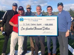 Colt Ford Captures Closest to Pin At Pebble Beach Pro Am; Earns $100,000 For St. Jude Children's Research Hosptial®