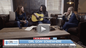 "Ashley McBryde to ""CBS This Morning"" viewers: ""Don't you dare give up"""