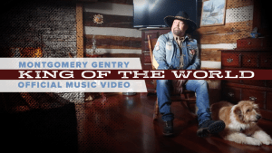 """Eddie Montgomery of Montgomery Gentry releases new video, """"King of the World"""""""