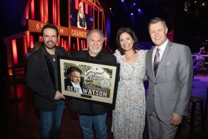 Gene Watson Celebrates three consecutive No. 1s at the Grand Ole Opry