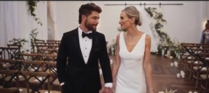 "Chris Lane's ""Big, Big Plans"" wedding video"