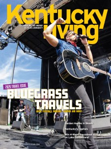 Kentucky native J.D. Shelburne featured on Kentucky Living Magazine April cover, distributed to 460,000 households statewide