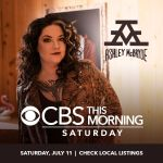 "Ashley McBryde Set to Perform on CBS' ""This Morning: Saturday"" July 11"