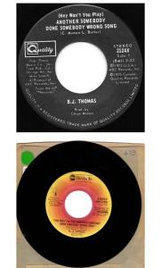"BJ Thomas' ""(Hey Won't You Play) Another Somebody Done Somebody Wrong Song"" Celebrates 45th Anniversary"