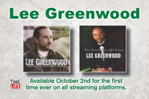 Lee Greenwood to release two exclusive albums digitally for the first time