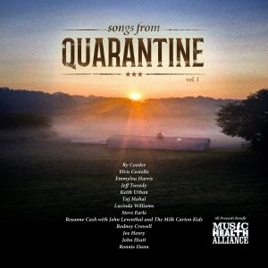 "Rodney Crowell and His All-Star Friends Release ""Songs From Quarantine"" Benefitting Music Health Alliance"