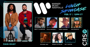 Dan + Shay To Headline Warner Music Nashville Luncheon During CRS 2021: The Virtual Experience