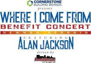 Country music star Alan Jackson to headline special HomeTown Concert Event