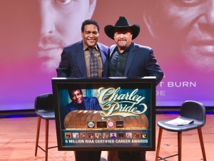 Trailblazing Country Music Legend Charley Pride Honored with The RIAA Lifetime Achievement Award at theNational Museum of African American Music