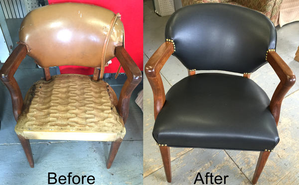 leather sofa repair london ontario velvet corner grey upholstery furniture refinishing toronto upholsetery