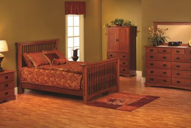 wooden mission furniture from