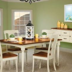 Farmhouse Dining Chairs Upholstered Chair And Ottoman Sets Amish Kitchen Countryside Furniture