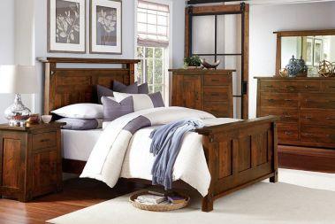 cherry wood furniture amish handmade